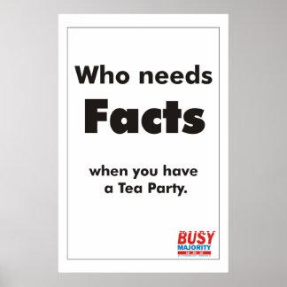 Quién necesita el poster de los hechos
