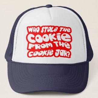 ¿Quién robó la galleta del tarro de galletas? Gorra De Camionero