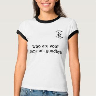 ¿Quién son usted? ¡Adelantado, adiós! Rap azerí de Camiseta