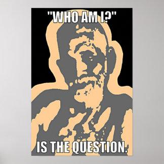 """¿""""Quién son yo? """"Poster"""