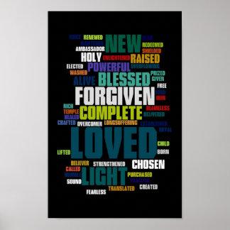 Quién soy en el poster de Cristo