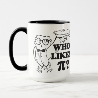 ¿Quién tiene gusto del pi?  Taza de Tavel