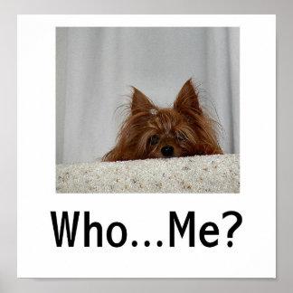 ¿Quién… yo? Póster