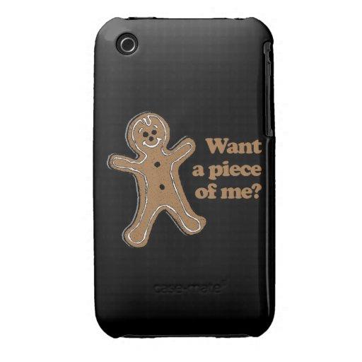 Quiera a un pedazo de mí Case-Mate iPhone 3 protector