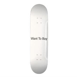 Quiera comprar patines