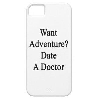 Quiera la fecha de la aventura un doctor iPhone 5 carcasas