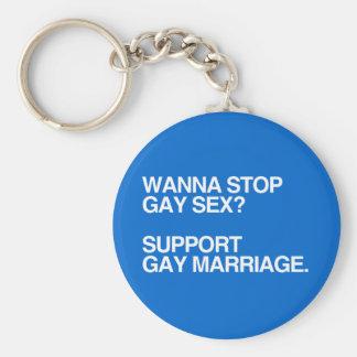 QUIERA PARAR MATRIMONIO HOMOSEXUAL LLAVEROS