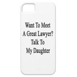 Quiera resolver una gran charla del abogado a mi h iPhone 5 Case-Mate cobertura