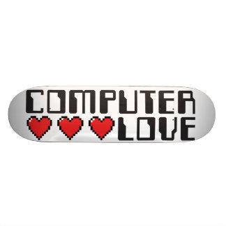 Quiero amarle. Amor del ordenador Patines