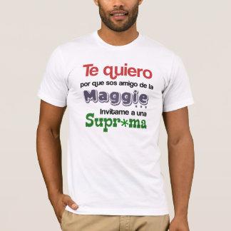 ¿Quiero del te del porque de Qué del ¿? Camiseta