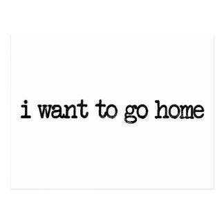 quiero ir a casa postal