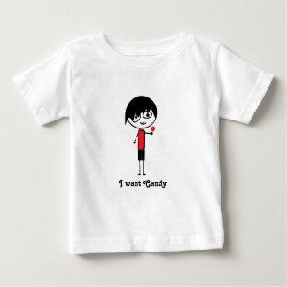 quiero la camiseta del niño del emo del caramelo