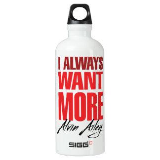 ¡Quiero MÁS! Botella De Agua