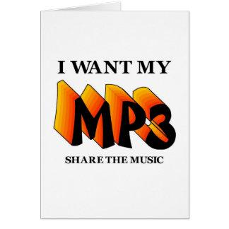 Quiero mi MP3 Tarjeton