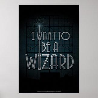Quiero ser mago póster