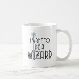 Quiero ser mago taza de café