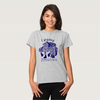 Quiero un azul del gitano camiseta