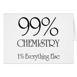 Química del 99% felicitación