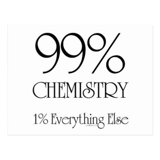 Química del 99% tarjetas postales