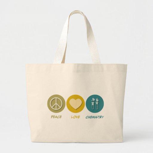 Química del amor de la paz bolsa