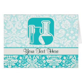 Química del trullo tarjeta de felicitación