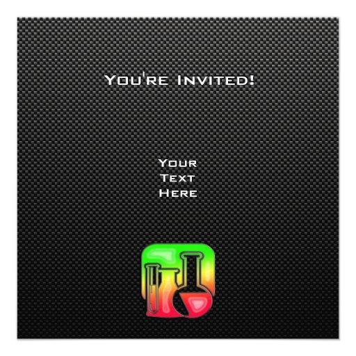 Química lisa invitacion personal