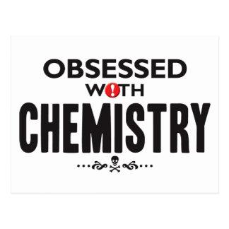 Química obsesionada postal