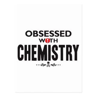 Química obsesionada tarjetas postales
