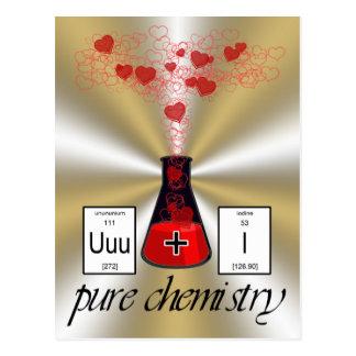 Química pura postal
