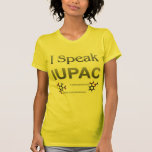 Química pura y aplicada de la unión internacional  camiseta