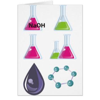 Química Tarjeta De Felicitación