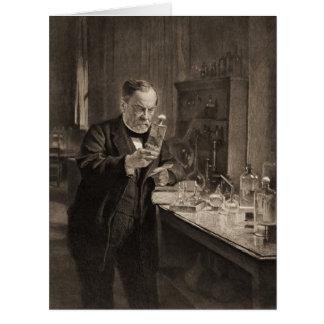 Químico 1892 tarjeta de felicitación grande