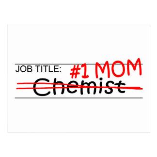 Químico de la mamá del trabajo postal