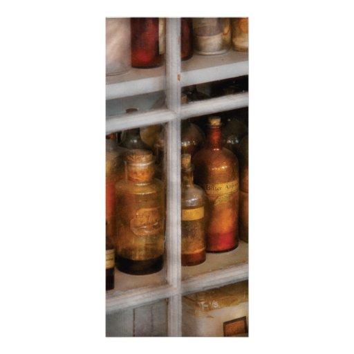 Químico - laboratorio del sabor diseño de tarjeta publicitaria
