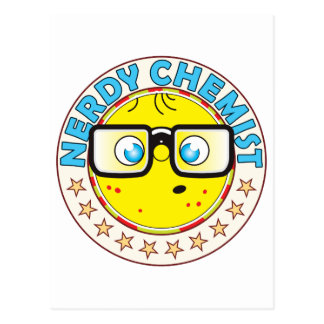 Químico Nerdy Postal