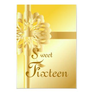 Quince-Personalizar dulce Invitación 12,7 X 17,8 Cm