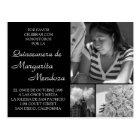 Quinceanera adaptable Invitacion Tarjeta