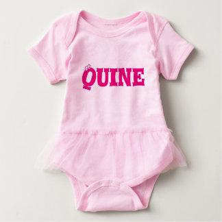 Quine (chica) Babygrow - dórico Body Para Bebé