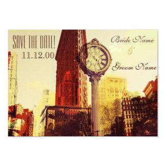 Quinta Avenida de Nueva York del vintage Invitación 12,7 X 17,8 Cm
