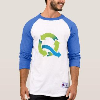 ¡Quinta Esencia azul y ventoso! Camiseta