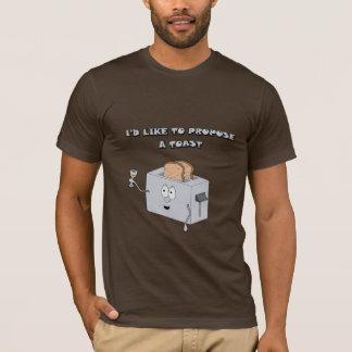 Quisiera proponer una tostada camiseta
