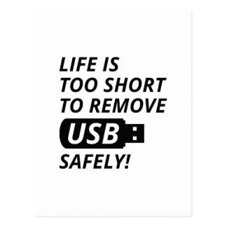 Quite USB con seguridad Postal