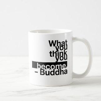 quote-buddha-stiles* taza básica blanca