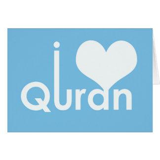 Quran del corazón I (amor) Tarjeta De Felicitación