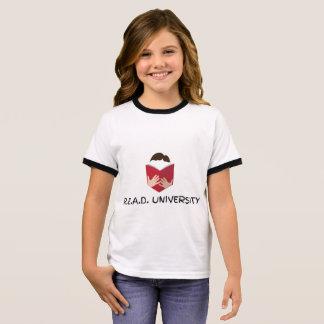 R.E.A.D. Camiseta del campanero del chica de la