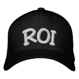 R.O.I. Rentabilidad de la inversión Gorra De Beisbol Bordada