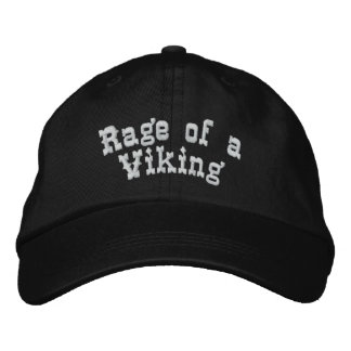 Rabia de Viking Gorra De Beisbol