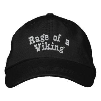 Rabia de Viking Gorras De Béisbol Bordadas