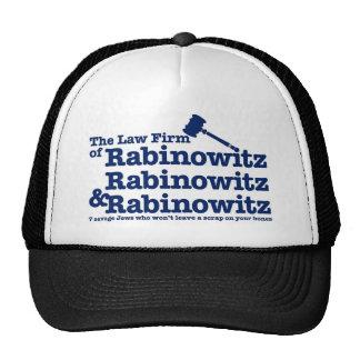 Rabinowitz Rabinowitz y Rabinowitz Gorra