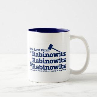 Rabinowitz Rabinowitz y Rabinowitz Taza Dos Tonos